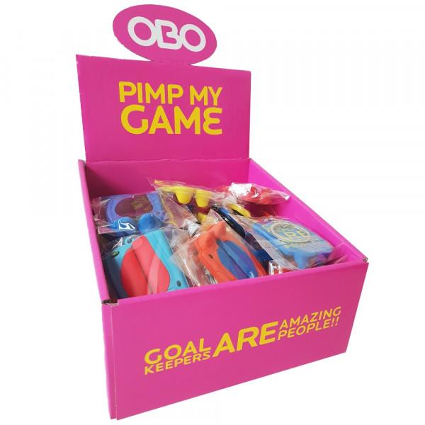 OBO Keyring box of 50 pieces