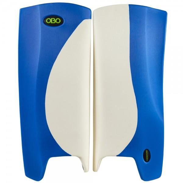 Obo Robo legguards Hi-rebound white/blue