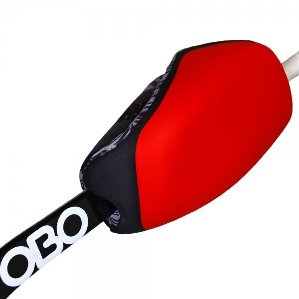 Obo handprotector Hi-control right red