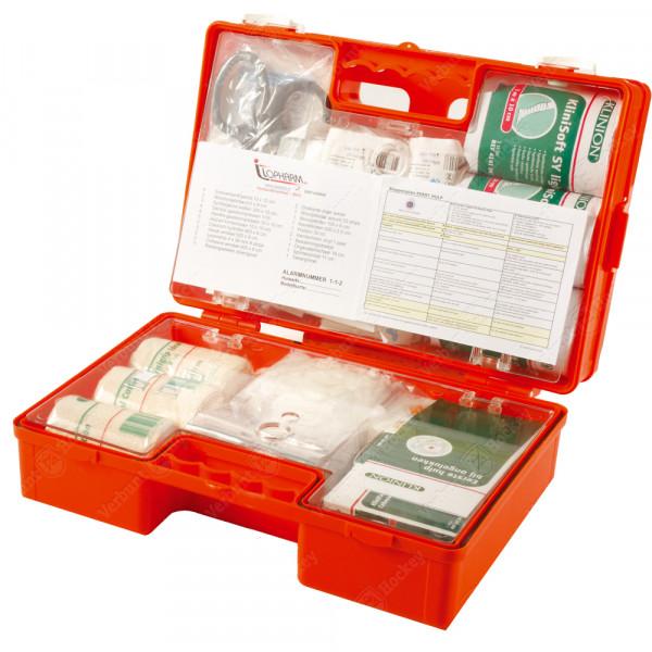 VH EHBO verzorgingskoffer met algemene inhoud