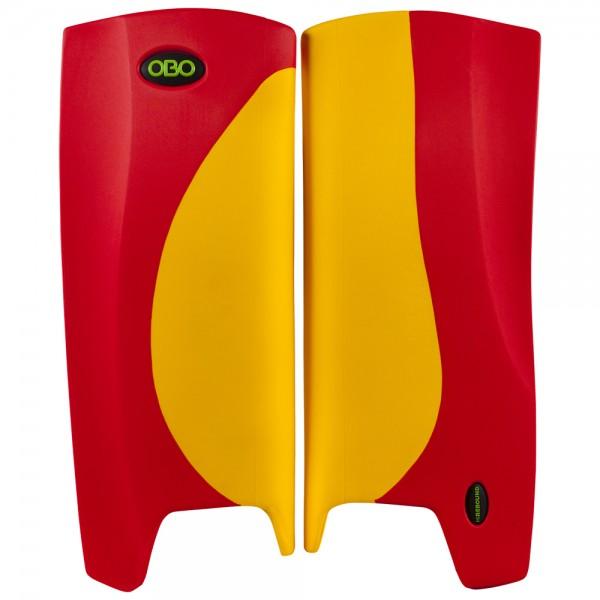 Obo Robo legguards Hi-rebound yellow/red