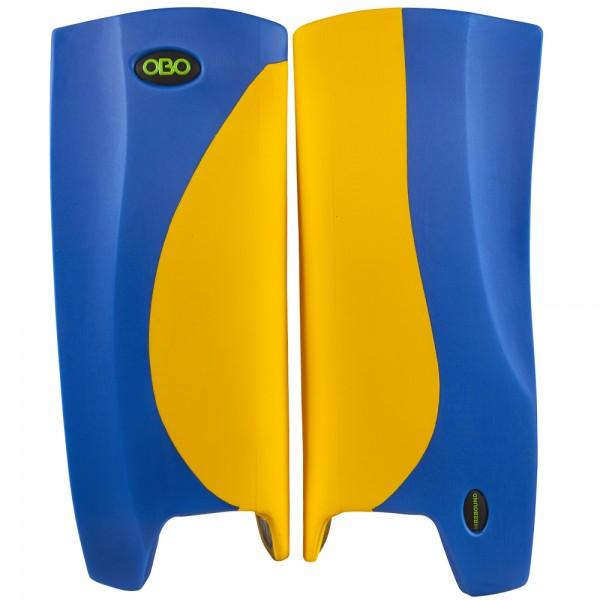 Obo Robo legguards Hi-rebound yellow/blue