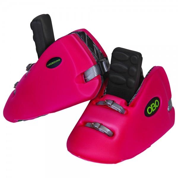 Obo Robo kickers Hi-rebound pink