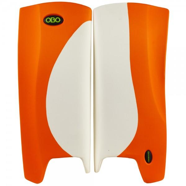 Obo Robo legguards Hi-rebound white/orange