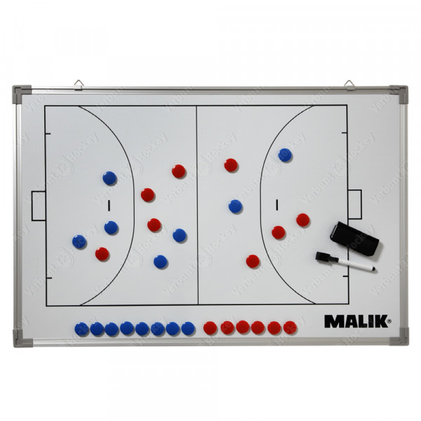Malik Tactiekbord magnetisch/whiteboard large 90x60cm