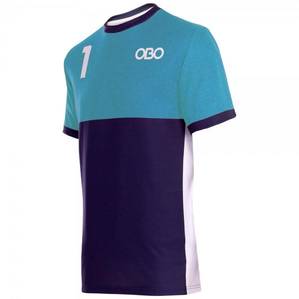 Obo custom goalieshirt peron/blue