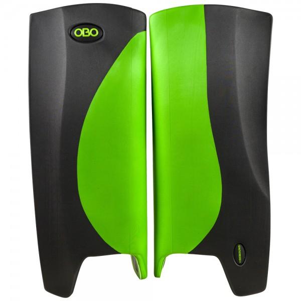Obo Robo legguards Hi-rebound green/black