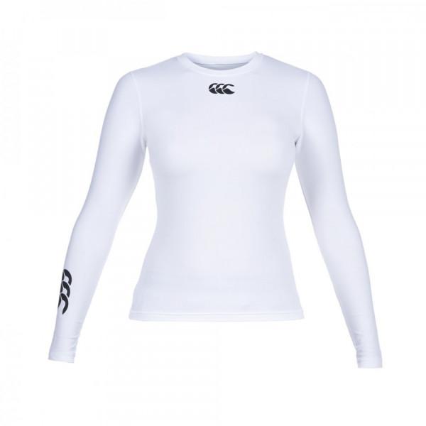 Canterbury women shirt Cold l/s white