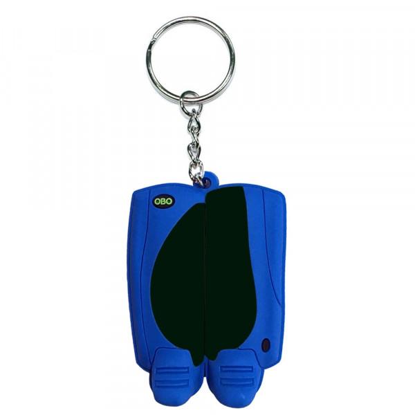OBO keyring legguard/kicker black/blue