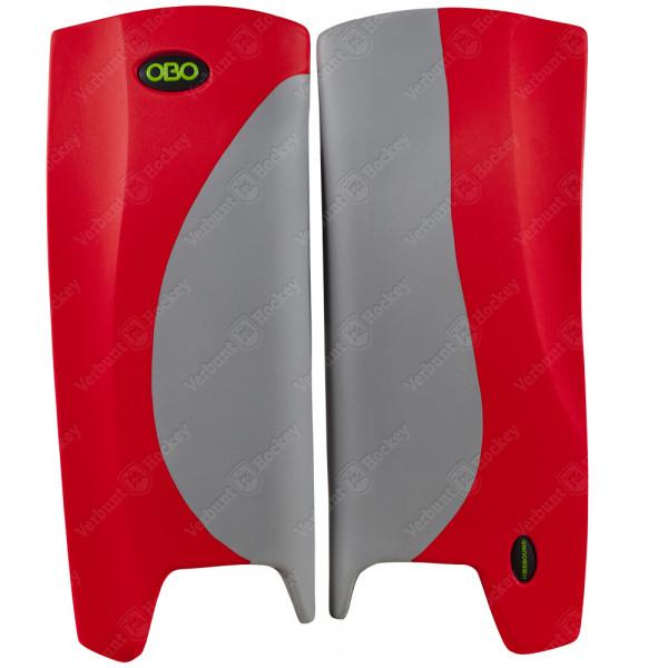 Obo Robo legguards Hi-rebound grey/red