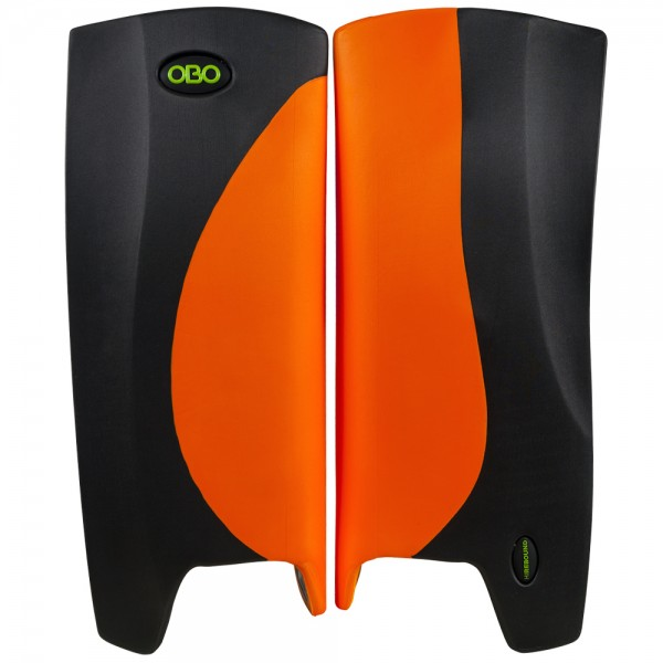 Obo Robo legguards Hi-rebound orange/black