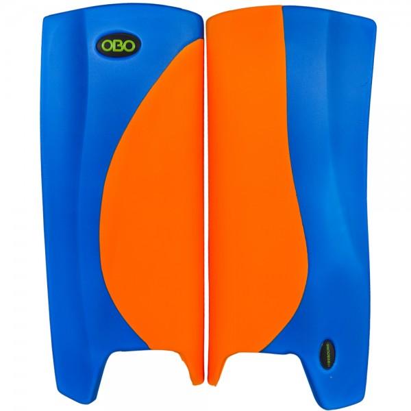 Obo Robo legguards Hi-rebound orange/blue