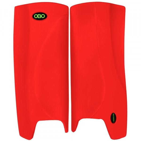 Obo Robo legguards Hi-rebound red