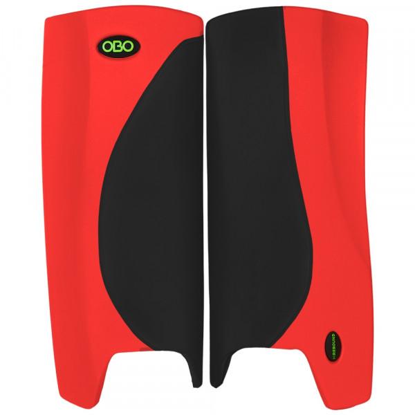 Obo Robo legguards Hi-rebound black/red