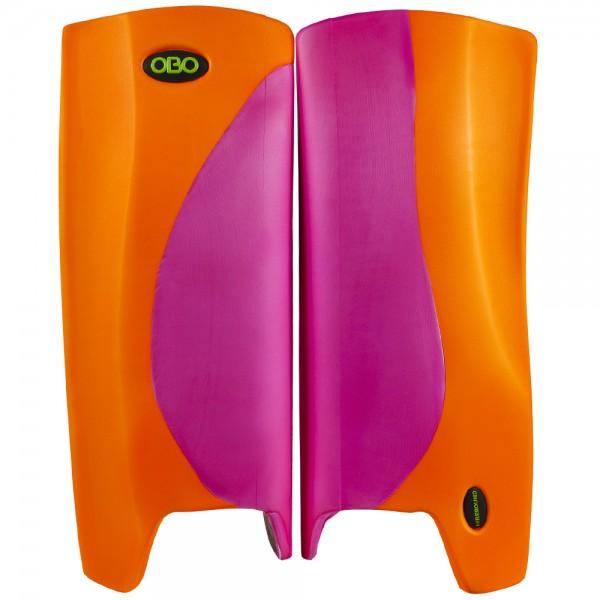Obo Robo legguards Hi-rebound pink/orange