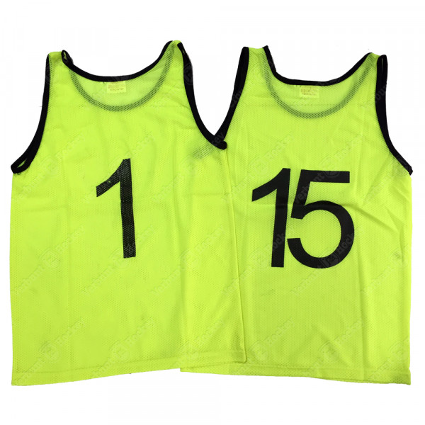 VH Trainingshes 1t/m15 yellow