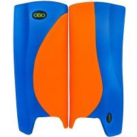 Obo Robo legguards Hi-rebound orange/blue M