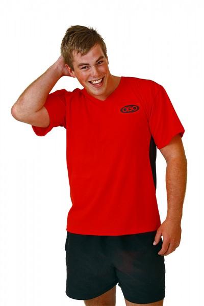 Obo Goalieshirt red/black