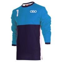 Obo custom goalieshirt peron/blue M