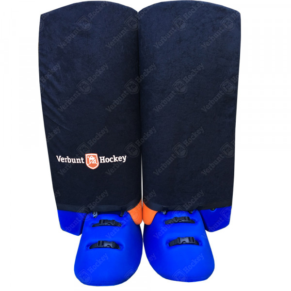 VH Indoor legguard hoes black SMALL