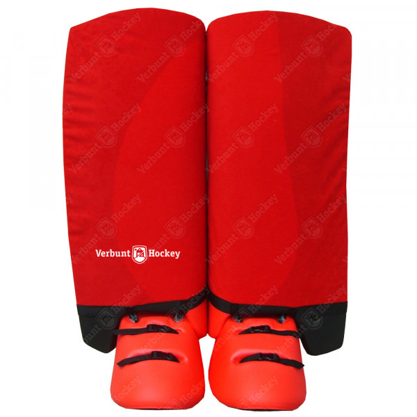 VH Indoor legguard hoes red SMALL