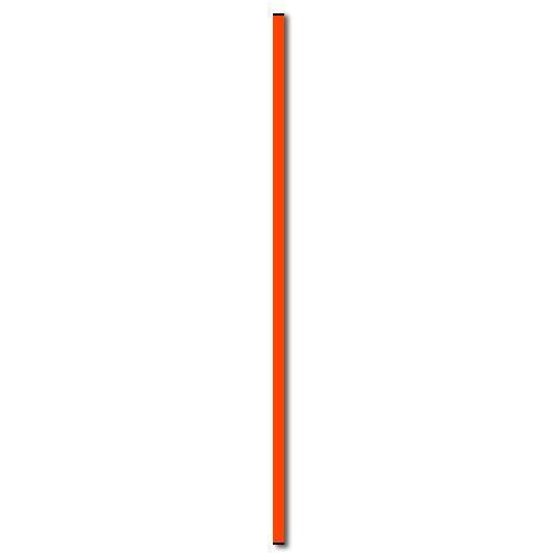 Multifunctionele sportpaal 100cm oranje