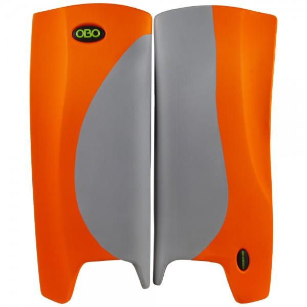 Obo Robo legguards Hi-rebound grey/orange